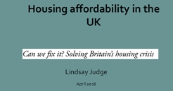 Housing Affordability 246